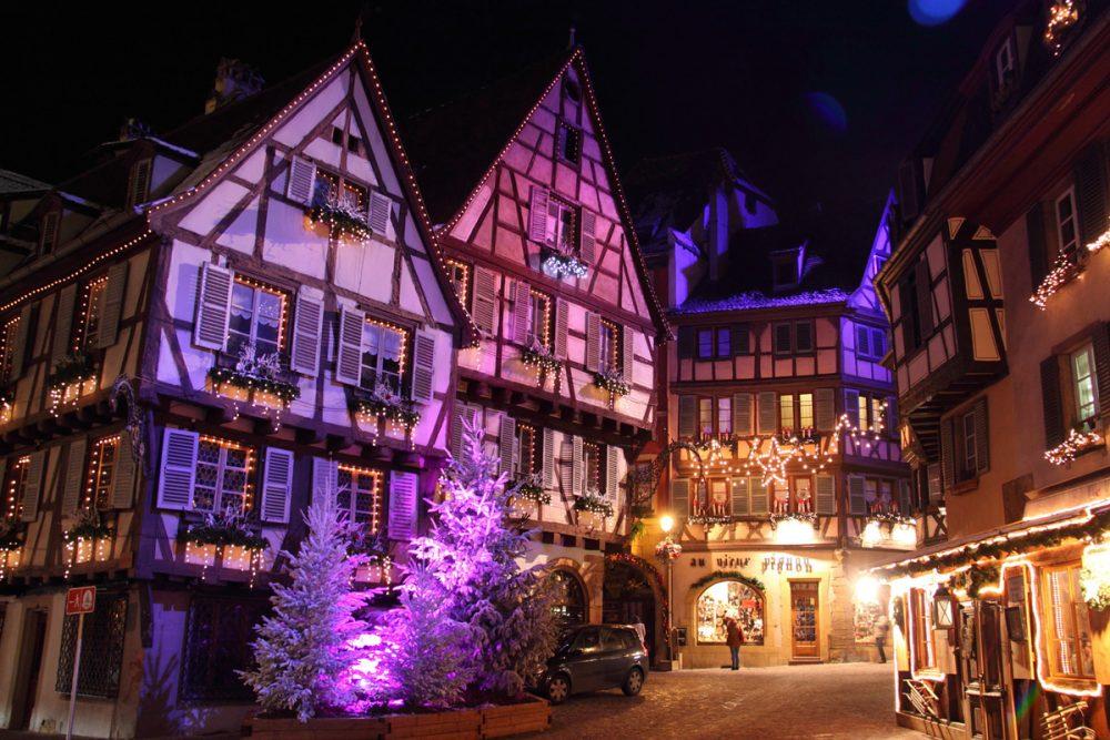 Image De Noel En Alsace.Marche De Noel En Alsace Europe Autocars