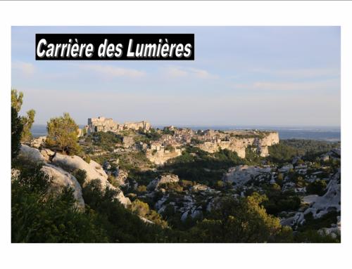 carrière des lumières en Baux de Provence